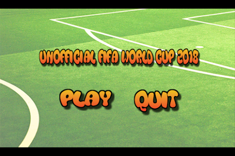 Unofficial Football World Cup 2018 Quiz - náhled