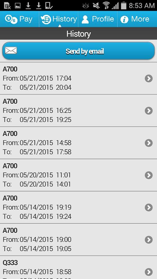 P$ Mobile Service - screenshot