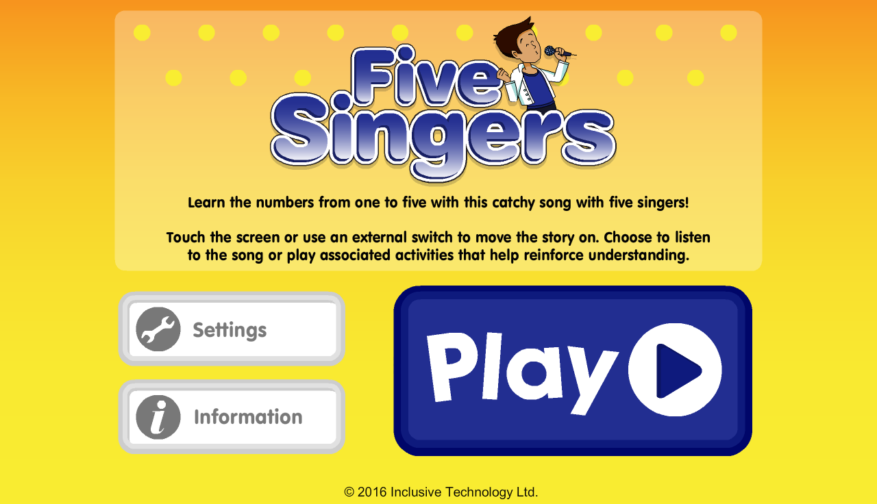 Five Singers- screenshot
