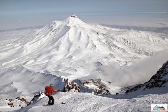 Photo: Skier: Mirka, location: volcano Koryaksky, Kamchatka-peninsula
