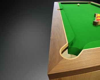 Left View of The Spartan Pool Table