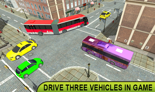 metro bis permainan : Bus Simulator 1.0 screenshots 20