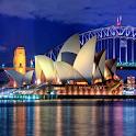 australian travel guide icon