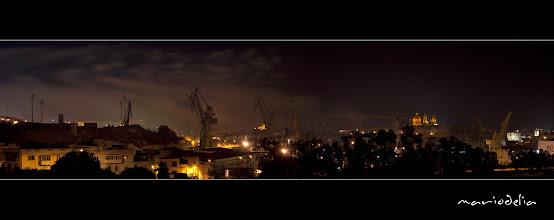 Photo: Maltese Dockyard And Senglea Church