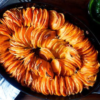 Crispy Sweet Potato Roast.