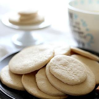 Crispy Gluten Free Sugar Cookies (Vegan).