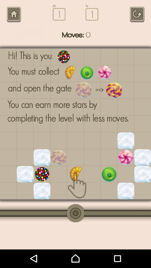 Sweet Candy: Logic Experiments- screenshot