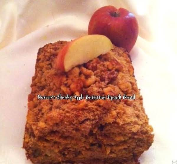 Nor's Chunky Apple Butternut Squash Bread