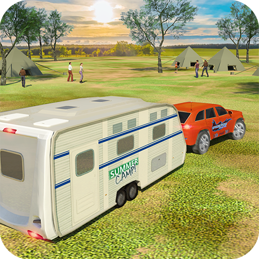 Camper Van Truck Simulator: Cruiser Car Trailer 3D