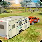 Caravana Furgón Camión Simulador: Crucero Auto 3D icon