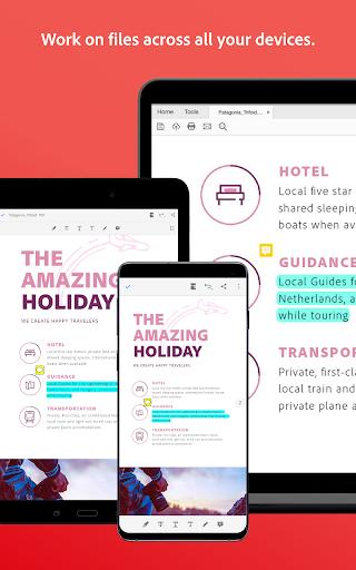 Adobe Acrobat Reader: PDF Viewer, Editor & Creator screenshot 16