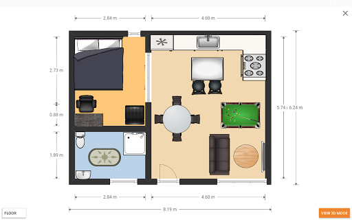 Floorplanner Screenshot