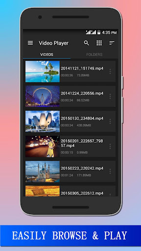 HD Video Player Pro  screenshots 3