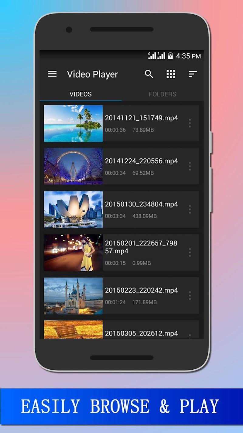 HD Video Player Pro Screenshot 2