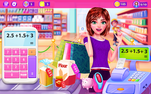 Supermarket Girl Cashier Game - Grocery Shopping cheat screenshots 2