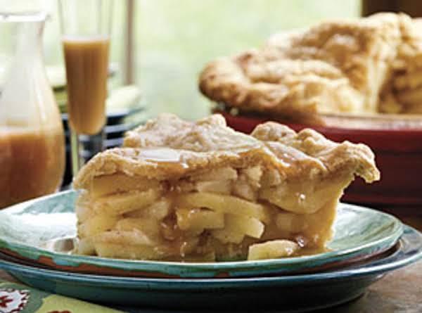 Double Apple Pie W/cornmeal Pie Crust.