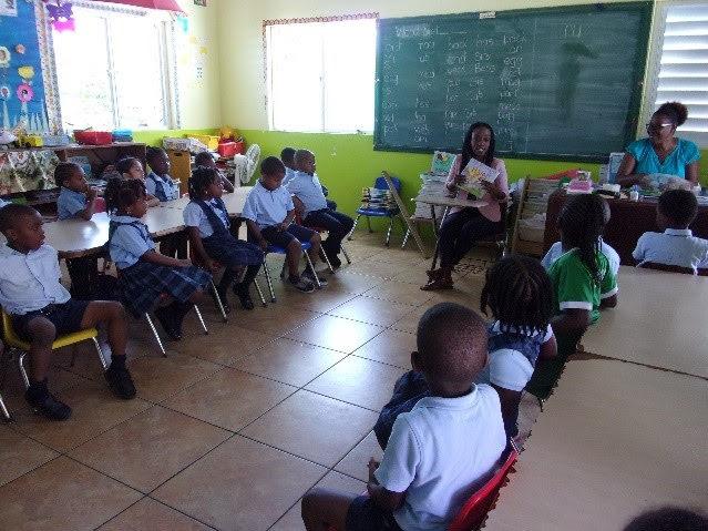 Visit and story reading at Shining Stars