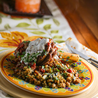 Pressure Cooker Braised Lamb Shanks & Couscous