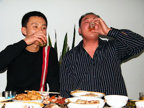 Photo: family gathered for dining for New Year's Day in 2012. even I, benzrad 朱子卓, disconnected from the family, i joined the party for food and hospitality in companion of my son, warrenzh 朱楚甲.