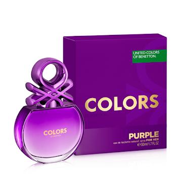 Perfume Benetton Colors Purple para Mujer Eau De Toilette x 50ml