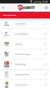 AS Guía de las Ligas 2015-2016- screenshot thumbnail