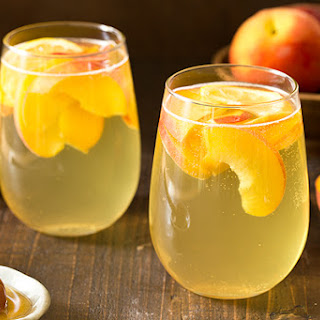 Peach Honey Sangria.