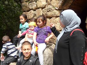 Photo: Een Palestijnse familie