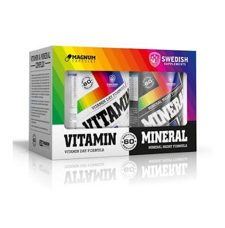 Vitamin & Mineral Complex - 60 dagar
