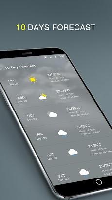 天気予報 - 天気無料のおすすめ画像5