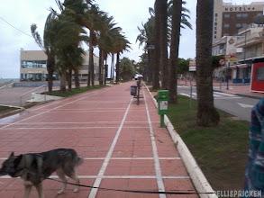 Photo: Strandpromenaden i San Javier