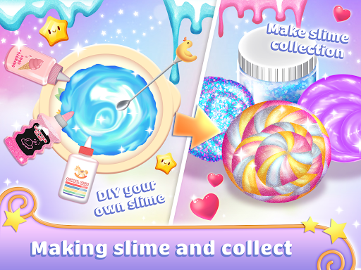 Real Slime Simulator Maker: Dress Up Girl apktram screenshots 3