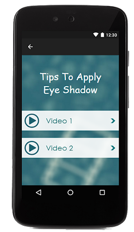android Tips To Apply Eye Shadow Screenshot 1
