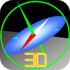 3D Compass Gyroscope icon