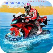 Water Surfer Moto Bike Race