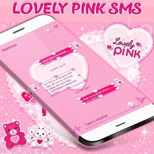 Pink SMS Themes 1.311.1.28 screenshots 1