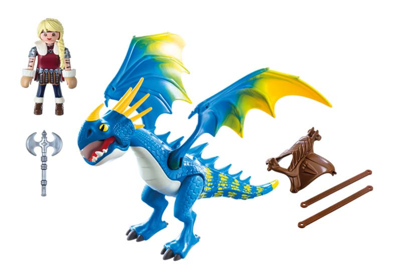 Contenido Real de Playmobil® 9247 Astrid Y Tormenta