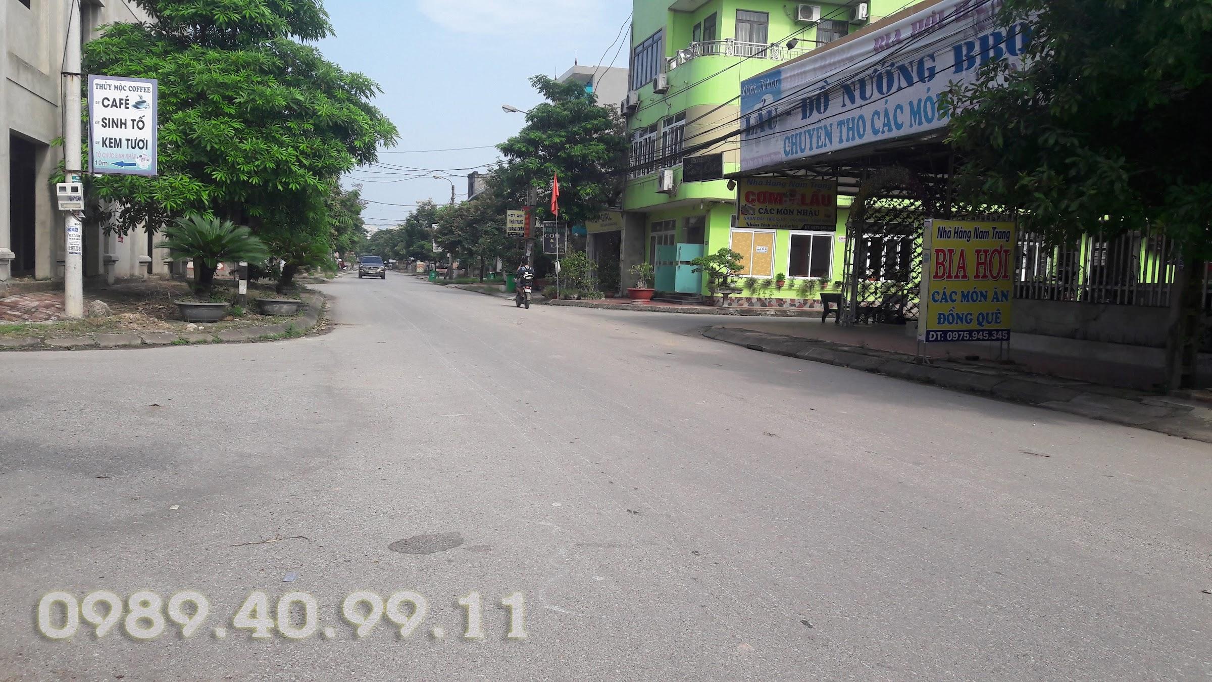 Mở bán đất khu dân cư Lê Hồng Phong Phổ Yên | Mặt đường Nguyễn Thị Minh Khai