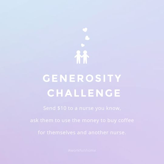 Generosity Challenge - Instagram Post Template