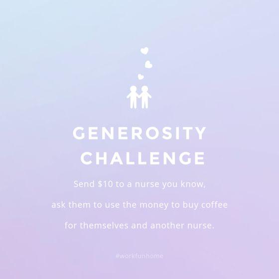 Generosity Challenge - Instagram Post Template