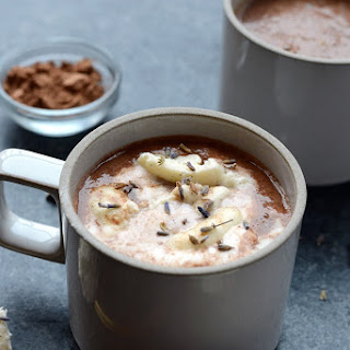Honey Lavender Hot Chocolate