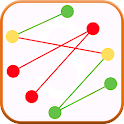 Crossing Lines Untangle Lines icon