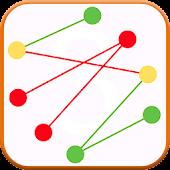 Crossing Lines Untangle Lines