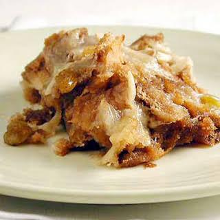 Capirotada (Mexican Bread Pudding).