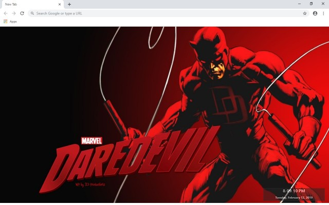 Marvel's Daredevil New Tab
