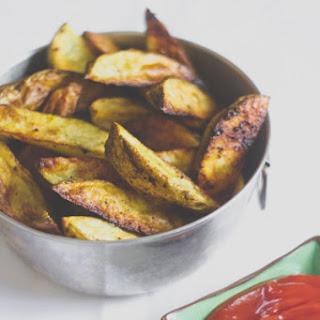 Madras Curry Potato Wedges