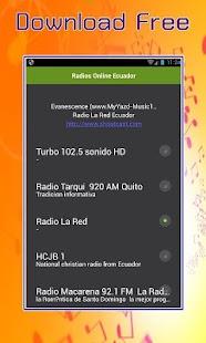 Radios Online Ekvádor - náhled