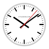 Swiss Analog Clock-7