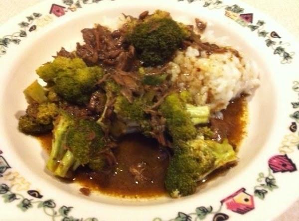 Crockpot Beef And Broccoli Recipe
