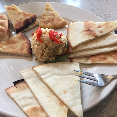 They will substitute pita bread on the appetizer menu with gluten free pizza crust! This was great so my non-gf family members and my gf family members could share an appetizer.