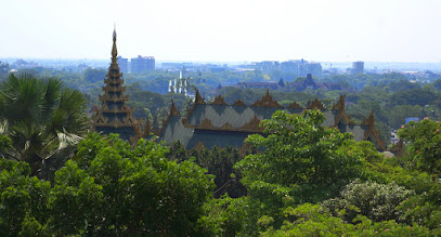 Photo: View of Yangon
